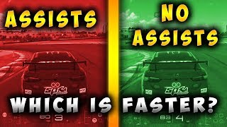 GT SPORT: Assists vs No Assists | Which Is Faster?