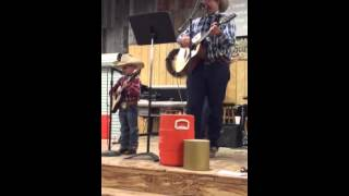 "Rob and Ryder Dubois' singing ""That's Why God Loves Cowboys"""