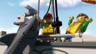 60147 рыболовный катер lego city