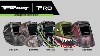 Forney® PRO Auto-Darkening Welding Helmets