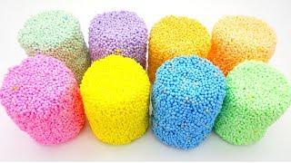 Сюрпризы из шарикового пластилина с игрушками из мультиков