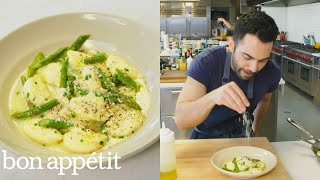 Andy Makes Pillowy, Delicious Ricotta Dumplings | From the Test Kitchen | Bon Appétit