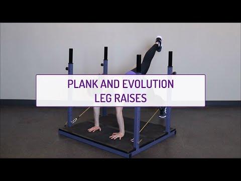 Plank and Evolution Leg Raises