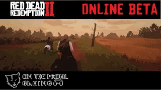 Red Dead Redemption 2 Online First Day!!!!