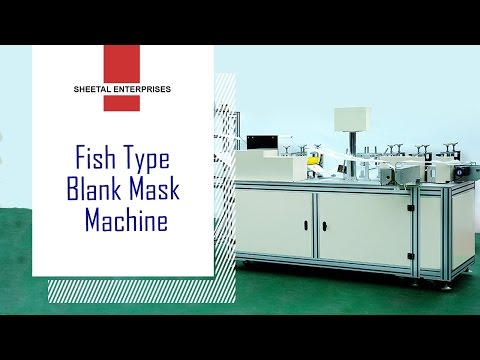 Fish Type Mask Machine
