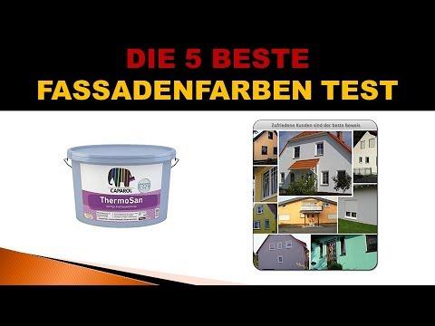 Beste Fassadenfarben Test 2019