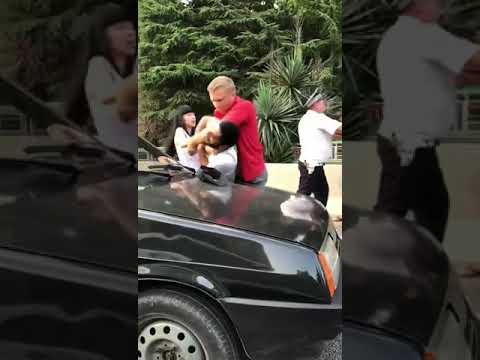 В Сочи подрались водители в присутствии гаишника