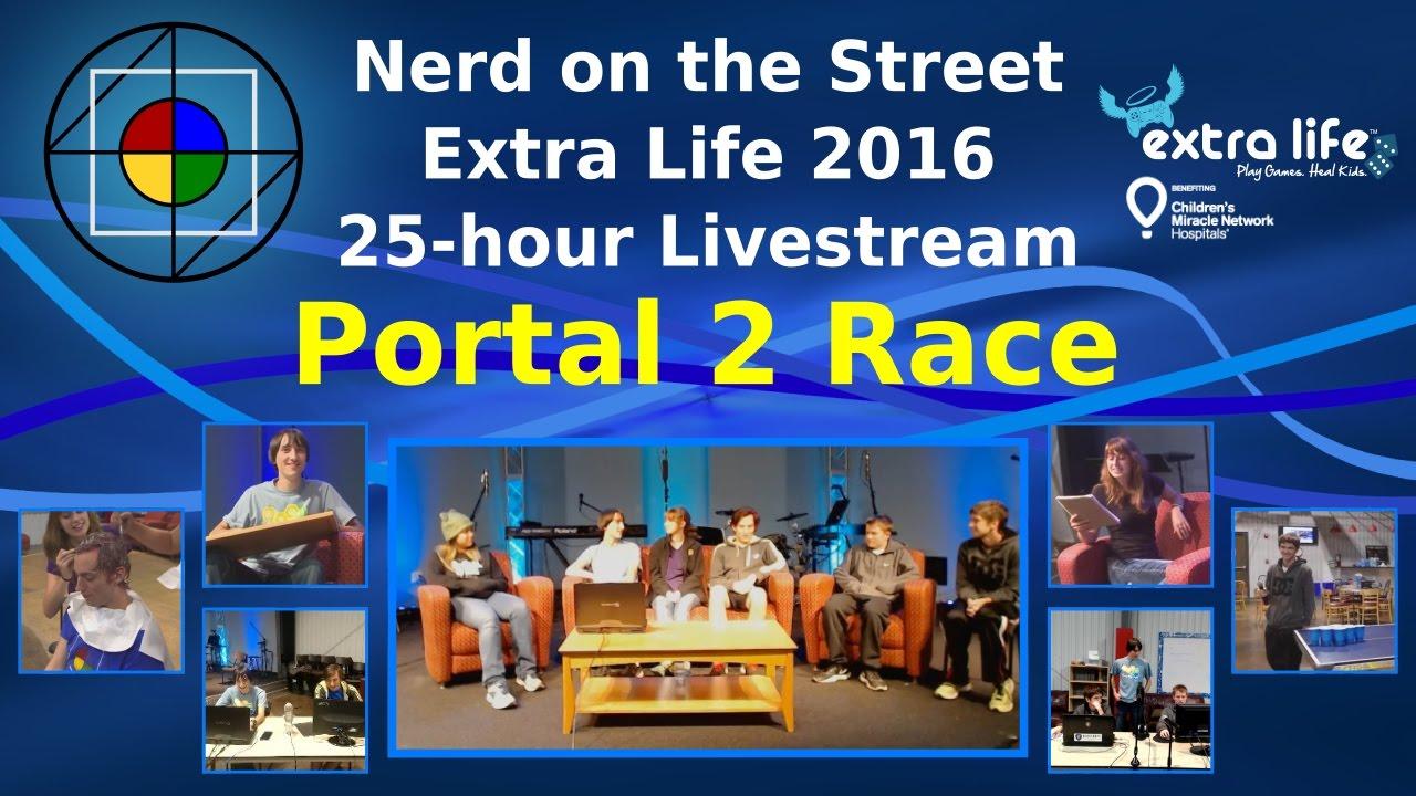 Portal 2 Race - Extra Life 2016
