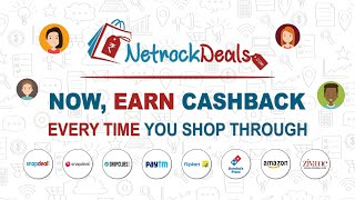 How to use NetrockDeals For Best Coupons and Deals with Extra Cashback