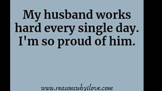 Proud Of My Husband Quotes 免费在线视频最佳电影电视节目 Viveosnet