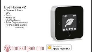 Eve Room v2 Air Quality Sensor with Apple Homekit