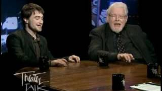 Daniel radcliffe wishes me a happy birthday at equus most popular the late great richard griffiths and daniel radcliffe sing a duet urtaz Image collections
