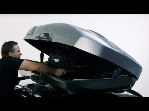 Thule Motion XT XL 800 tetőbox, fekete