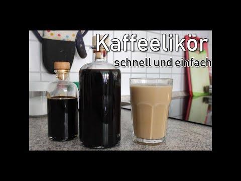 Kaffeelikör, schnell und einfach