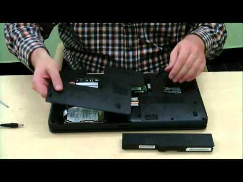Toshiba Satellite Pro C660, Satellite C660 Series Memory replacement