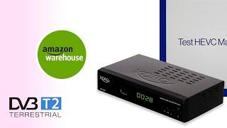 AmazonWarehouse Test Xoro HRM 7620 Ricevitore digitale terrestre DVBT2 FullHD