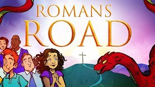 Romans Road to Salvation - The Book of Romans | Sunday School Lesson & Bible Story for Kids
