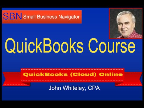 QuickBooks Online Training Course | Tutorial on How to Use the Software