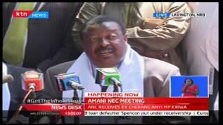 Musalia Mudavadi holds NEC meeting ahead of NASA meeting tomorrow