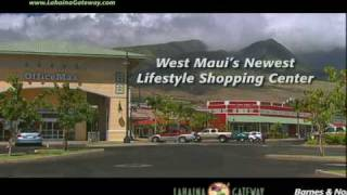 preview picture of video 'Lahaina Gateway Shopping Center 1'