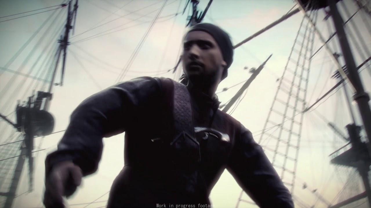 Трейлер альфа-версии игры Корсары: Черная Метка