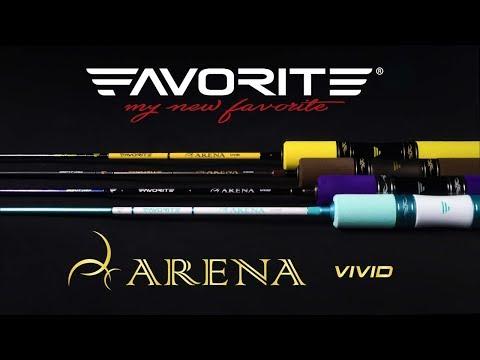 Lanseta Favorite Arena Vivid Violet ARNV-VL632SUL 1.9m 1-4g M-Slow