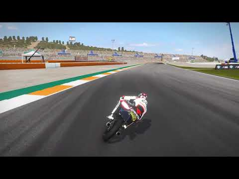 Valencia track and physics mod MotoGP 17 1080p