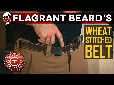 Leather EDC Belt Review – My Daily Concealed Carry Belt