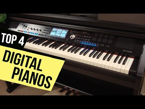 TOP 4: Digital Pianos 2018