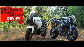 DSK Benelli BN600i & TNT 600GT Review l PowerDrift
