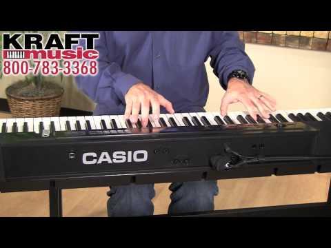Kraft Music - Casio Privia PX-350 Demo with Mike Martin