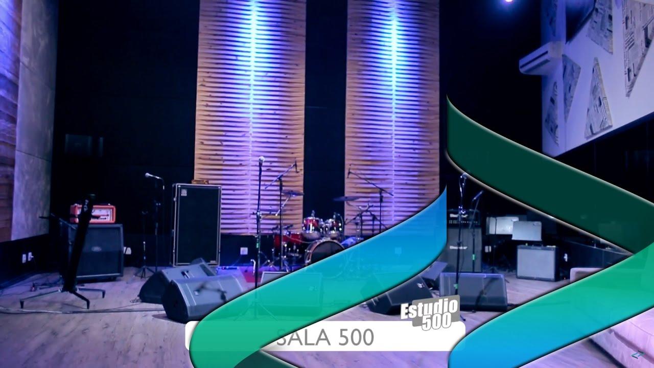 CLIPE DIVULGAÇÃO ESTÚDIO 500 - SALA 500