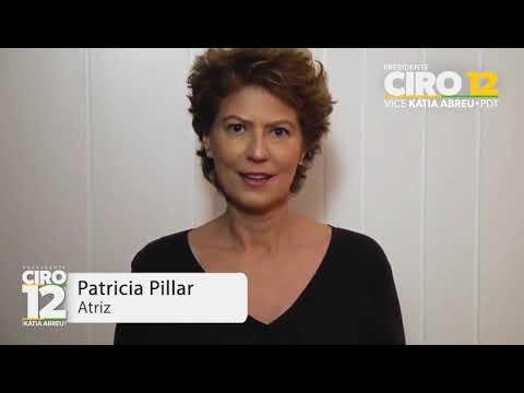 Patrícia Pillar vota Ciro 12