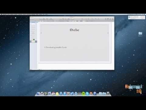 Video Objective-C kursus / Tutorials - #1 Lav din egen app gratis