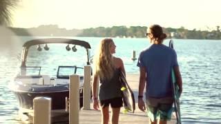 Лучший катер для водных видов спорта Sea Ray 230 SLX-W