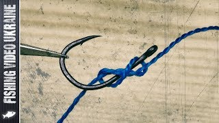 Как вязать крючки без ушка на леску