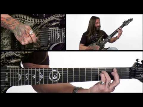 Rusty Cooley Guitar Lesson - #43 Exploring The Diminished Scale - Lickopedia Mp3