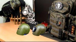 Современные штурмовые бронешлемы