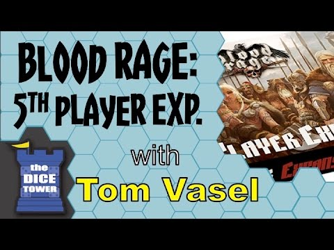 Dice Tower Reviews: Blood Rage: 5th Player Expansion