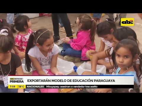 Exportarán modelo de educación paraguaya