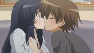 Anime kiss scene HD