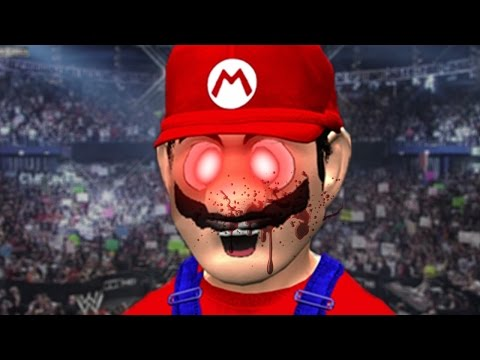 EVIL KILLER MARIO!?! | WWE 2k17 Fun