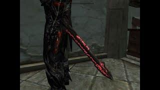 Skyrim Новое Даэдрическое оружие