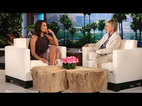 , title : 'Rosario Dawson Dances on 'Ellen''