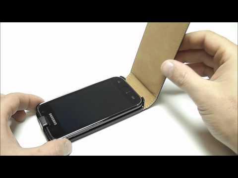edle Samsung Galaxy Plus I9001Tasche Case Etui von mobilefox