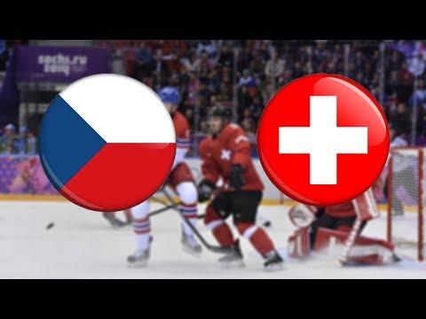 NHL 18   ZOH 2018   ČESKÁ REPUBLIKA - ŠVÝCARSKO   CZ/SK