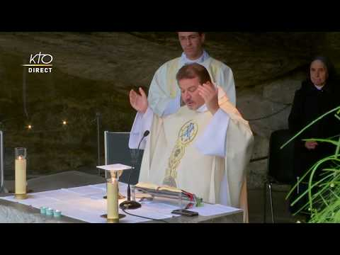Messe à Lourdes du 11 mai 2020