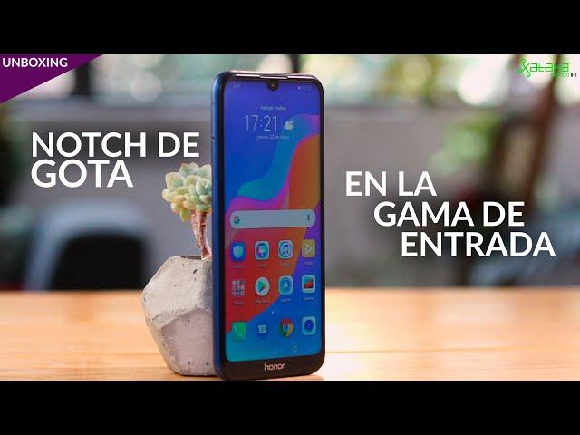 Honor 8A, UNBOXING: Gran PANTALLA y NOTCH DE GOTA para la gama de entrada