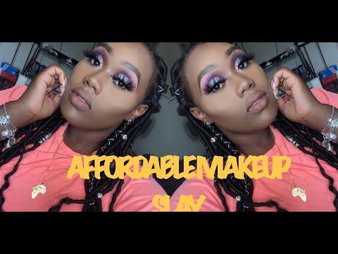 NEON DOUBLE CUT CREASE SLAY ||  MakeupTiffanyJ Inspo