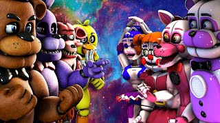 Top 10: Best Five Nights at Freddy's FIGHT Animations 2016 (KILL FNAF VS Animations)